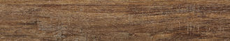 Frost Resistant Indoor Wood Look Ceramic Tile Brown Red Beige 150 × 800 mm